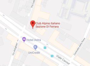 Iscrizioni - Falesie e dintorni @ Sede CAI Ferrara   Ferrara   Emilia-Romagna   Italia